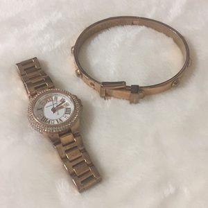 Michael Kors (watch&braclet)